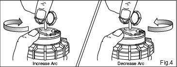 pop up sprinkler head adjustments information, how to adjust Fire Sprinkler Head Diagram fig 4